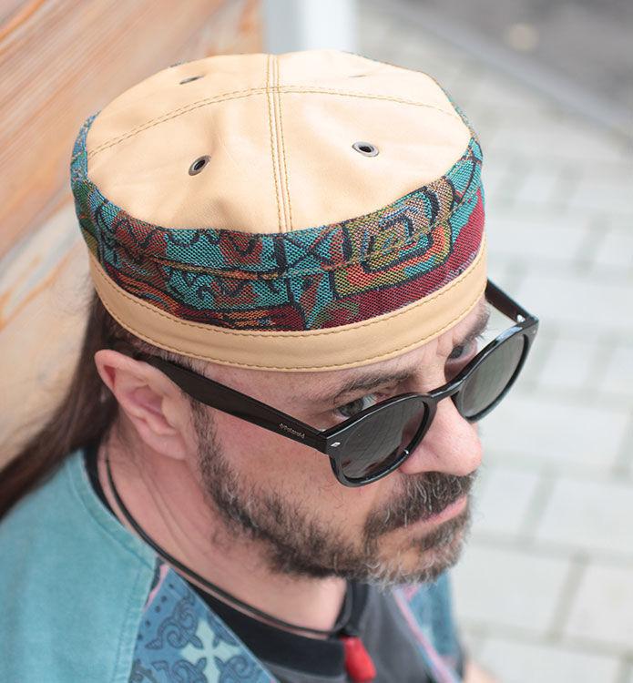103f28b4119dc Hats handmade. Livemaster - handmade. Buy African ethnic kufi hat in denim  TLB- ...