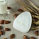 """Мыло ручной работы. Ярмарка Мастеров - ручная работа. Купить Натуральное мыло """"Миндальное молочко"""". Handmade. Белый"""