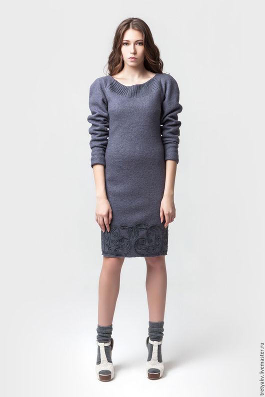 Платья ручной работы. Ярмарка Мастеров - ручная работа. Купить платье/платье футляр. Handmade. Сиреневый, платье в офис, Платье нарядное