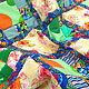 """Пледы и одеяла ручной работы. Лоскутное одеяло """"Летние сумерки"""", Детское Лоскутное покрывало, хлопок. Лоскутная кухня, Марина. Интернет-магазин Ярмарка Мастеров."""