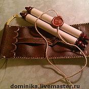Подарки к праздникам ручной работы. Ярмарка Мастеров - ручная работа Свиток в рыцарском стиле. Handmade.