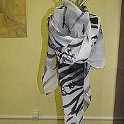 Аксессуары ручной работы. Ярмарка Мастеров - ручная работа платок. Handmade.