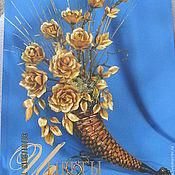 """Картины и панно ручной работы. Ярмарка Мастеров - ручная работа Книга """"Цветы из соломки"""". Handmade."""
