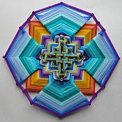 Фен-шуй и эзотерика ручной работы. Ярмарка Мастеров - ручная работа Мандала плетёная. Handmade.
