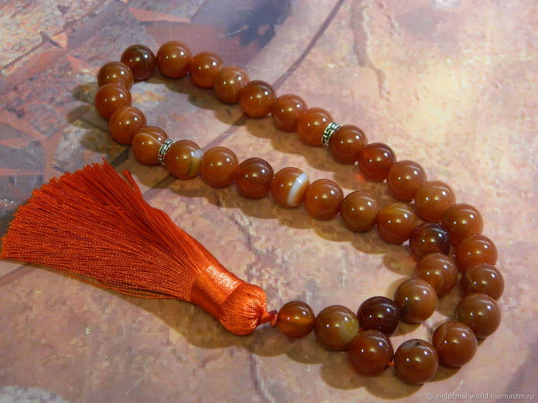 Beads of Carnelian, Rosary, Saratov,  Фото №1