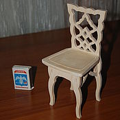 Материалы для творчества handmade. Livemaster - original item Doll high chair.294.. Handmade.