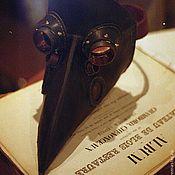Сувениры и подарки ручной работы. Ярмарка Мастеров - ручная работа Маска чумного доктора. Handmade.