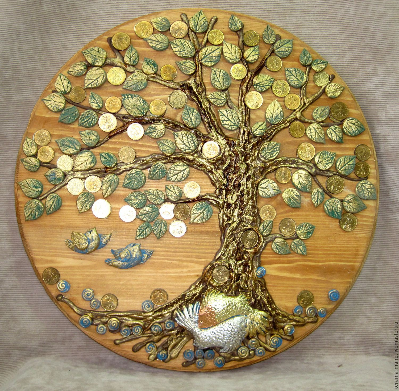 Картина денежное дерево из монет своими руками мастер 66