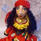 """Куклы и игрушки ручной работы. Ярмарка Мастеров - ручная работа Авторская кукла """"Цыганка Земфира"""". Handmade."""