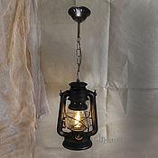 Chandeliers handmade. Livemaster - original item Chandelier ceiling pendant lamp Kerosene lamp electric. Handmade.