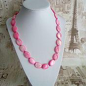 Украшения handmade. Livemaster - original item Beads of pink Pearl Beauty. Handmade.