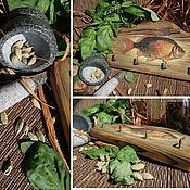 """Для дома и интерьера ручной работы. Ярмарка Мастеров - ручная работа вешалка """"Common Carp"""". Handmade."""