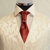 Аксессуары ручной работы. Ярмарка Мастеров - ручная работа Детский узкий галстук Аскот. Handmade.