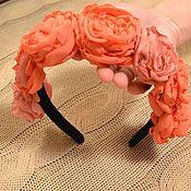Украшения ручной работы. Ярмарка Мастеров - ручная работа венок розы. Handmade.