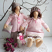Куклы и игрушки ручной работы. Ярмарка Мастеров - ручная работа Сонные Ангелы тильда, тильды-сплюшки, Ангелы Сна тильда. Handmade.