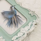 Украшения handmade. Livemaster - original item Brooch Hummingbird.Brooch miniature