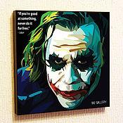 Картины и панно handmade. Livemaster - original item Picture poster Pop Art Joker Joker. Handmade.