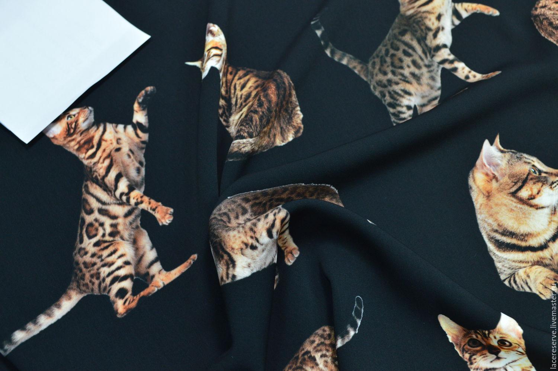 дольче габбана ткань кошки