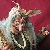 """Куклы и игрушки ручной работы. Ярмарка Мастеров - ручная работа Баба-Яга """"Красотка"""". Handmade."""