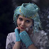 """Аксессуары ручной работы. Ярмарка Мастеров - ручная работа Шляпка """"Народные мотивы"""". Handmade."""