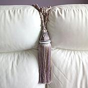 Материалы для творчества handmade. Livemaster - original item Tiebacks Big brush. Handmade.