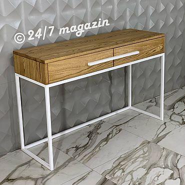 Мебель ручной работы. Ярмарка Мастеров - ручная работа Консоль SNOW QUEEN. Handmade.