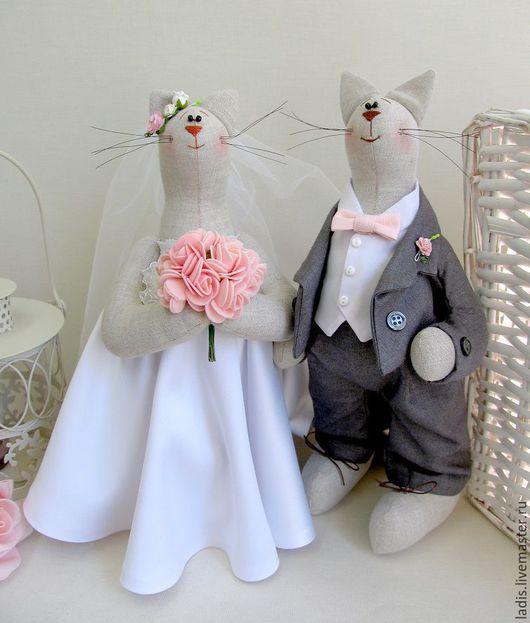 Подарки на свадьбу ручной работы. Ярмарка Мастеров - ручная работа. Купить Свадебный подарок. Handmade. Белый, свадебные игрушки