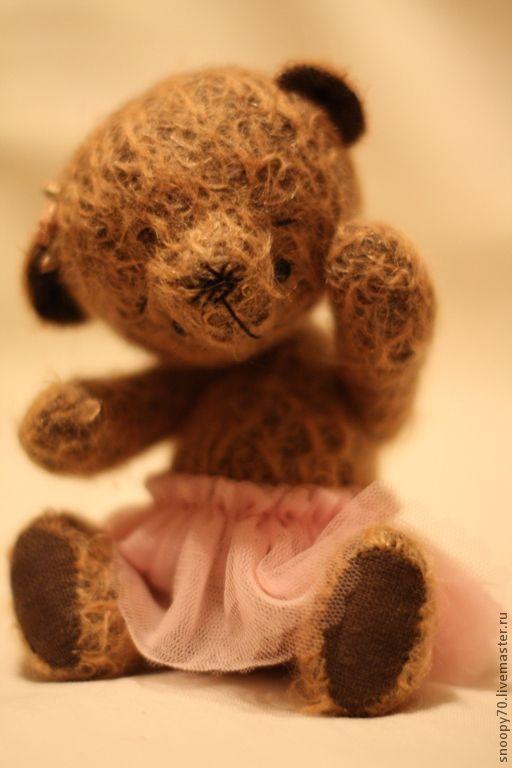 Мишки Тедди ручной работы. Ярмарка Мастеров - ручная работа. Купить Хочу танцевать.... Handmade. Бежевый, мишка ручной работы