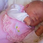 Работы для детей, ручной работы. Ярмарка Мастеров - ручная работа Комбинезон для новорожденного.Вязанный комбинезон для девочки. Handmade.
