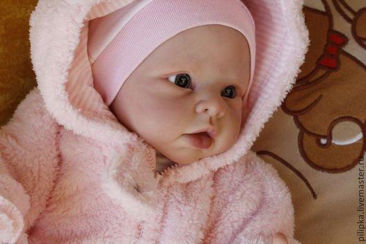 Куклы-младенцы и reborn ручной работы. Ярмарка Мастеров - ручная работа. Купить Каролина. Handmade. Бледно-розовый, винил