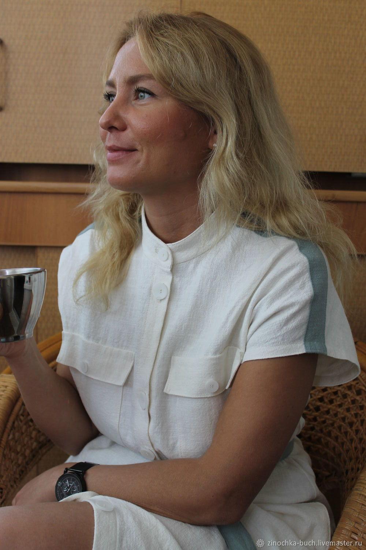 33400064d9f Оксана Медведская. Платья ручной работы. Женское длинное платье из вареной  крапивы Фисташковая ваниль.