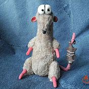 Куклы и игрушки ручной работы. Ярмарка Мастеров - ручная работа Крысеныш - охотник. Handmade.