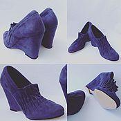 Обувь ручной работы handmade. Livemaster - original item Shoes 2 folds. Handmade.