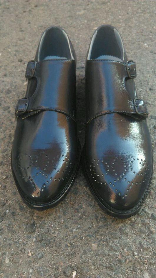 Обувь ручной работы. Ярмарка Мастеров - ручная работа. Купить Женские Монки. Handmade. Монки, туфли из кожи