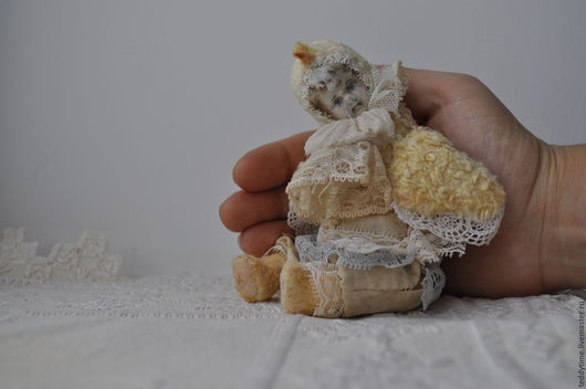 Авторские работы Марии Морозовой. Тедди-долл. Цыпленок.