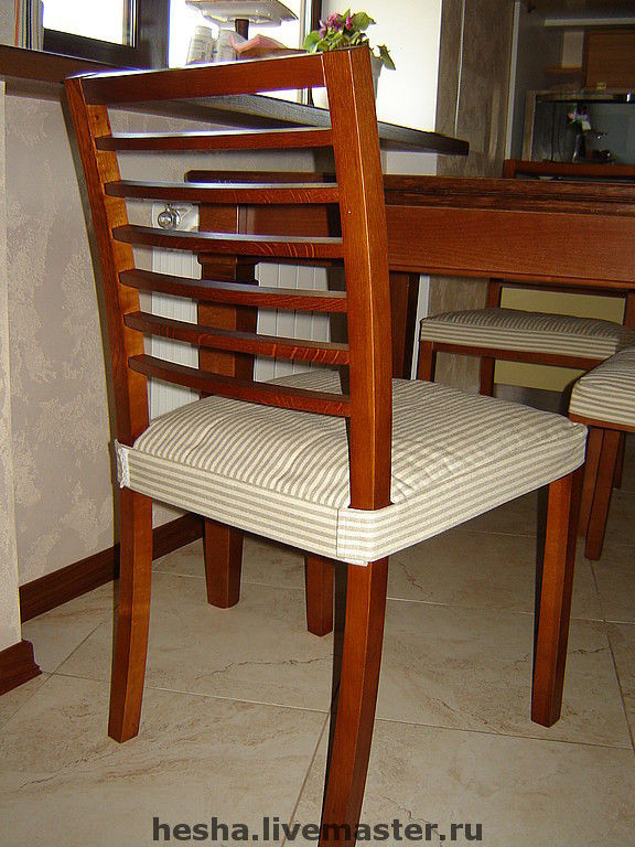 Сидушки стулья своими руками