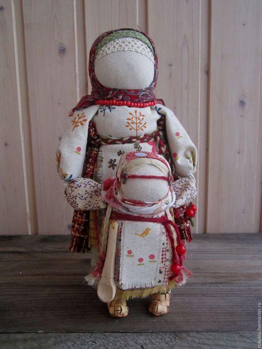 Народные куклы ручной работы. Ярмарка Мастеров - ручная работа. Купить Ведучка. Handmade. Комбинированный, мама и малыш, оберег