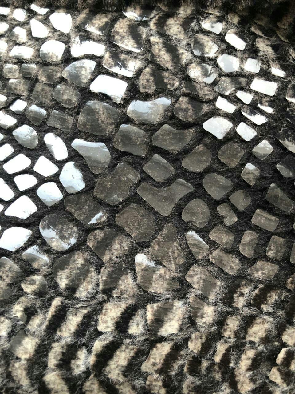 Эко  мех с накатом Италия, Ткани, Нефтекамск,  Фото №1