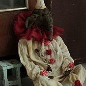 Stuffed Toys handmade. Livemaster - original item Johnny the clown. Handmade.