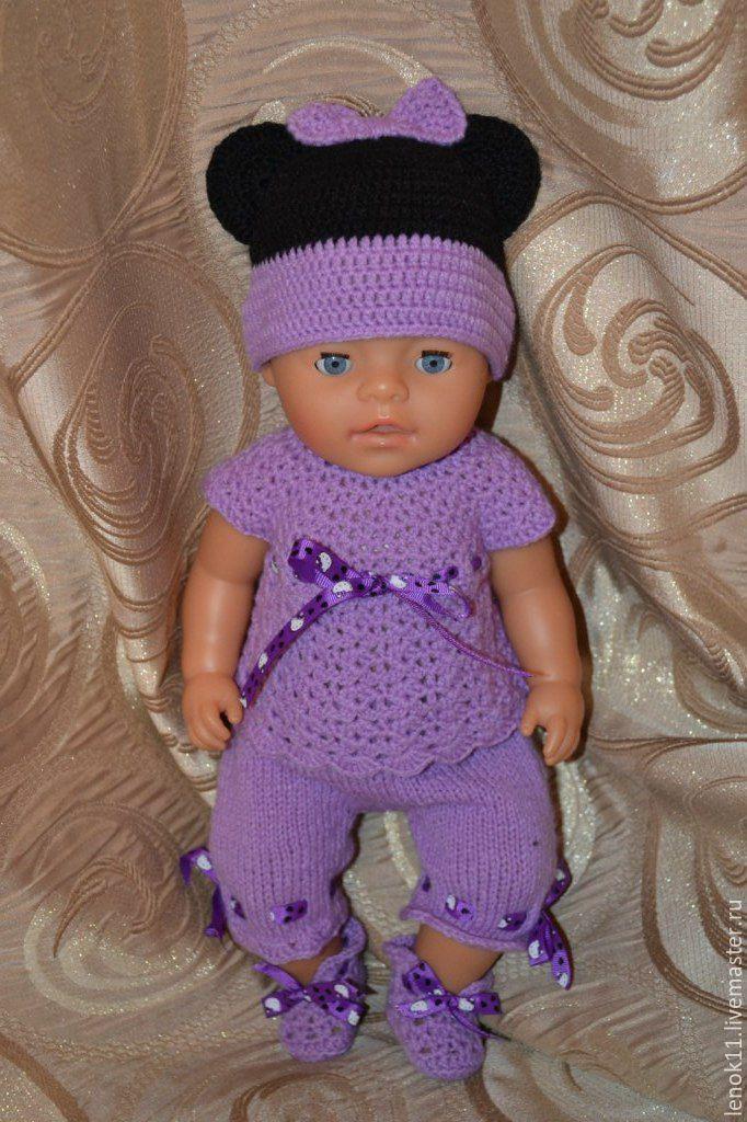 Вязание костюмов на кукол