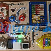 Куклы и игрушки ручной работы. Ярмарка Мастеров - ручная работа Развивающая доска. Handmade.
