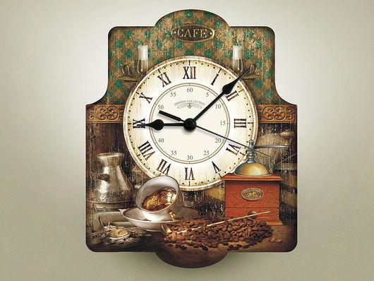 Часы для дома ручной работы. Ярмарка Мастеров - ручная работа. Купить часы настенные Кофе. Handmade. Часы, часы настенные