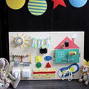Куклы и игрушки ручной работы. Ярмарка Мастеров - ручная работа Бизиборд №1. Handmade.