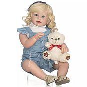 Куклы и игрушки ручной работы. Ярмарка Мастеров - ручная работа Кукла Девочка Нэлли. Handmade.
