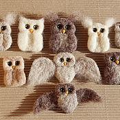 Украшения handmade. Livemaster - original item and brooches made of wool. Handmade.