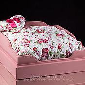 Для домашних животных, ручной работы. Ярмарка Мастеров - ручная работа Кровать для собачки(большая). Handmade.