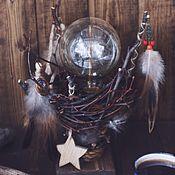 Для дома и интерьера handmade. Livemaster - original item Dream catcher night light. Handmade.