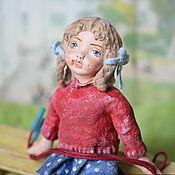 Сувениры и подарки handmade. Livemaster - original item Cotton Christmas toy handmade