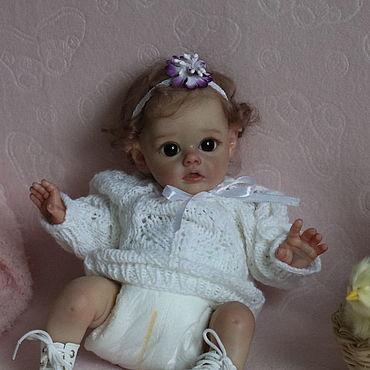 Куклы и игрушки ручной работы. Ярмарка Мастеров - ручная работа Кукла реборн Фло 2. Handmade.