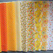 Материалы для творчества ручной работы. Ярмарка Мастеров - ручная работа набор хлопка 6. Handmade.